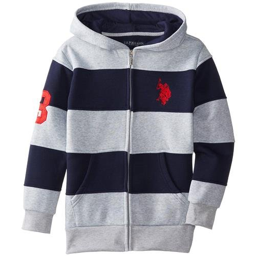 us-polo-assn-big-boys-cut-and-sew-wide-stripe-fleece-hoody-white-10-12