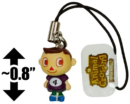 "Boy w/ T-Shirt #4 ~0.8"" Charm: Animal Crossing - Wild World Mini-Figure Charm Series #2"