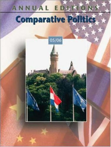 Annual Editions: Comparative Politics 05/06
