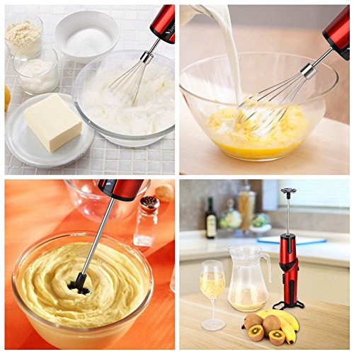 Vbestlife Hand Mixer Rechargeable Handheld Mixer Whisk Cordless Electric Egg Beater with Adjustable Head, Battery Powered by Vbestlife (Image #5)