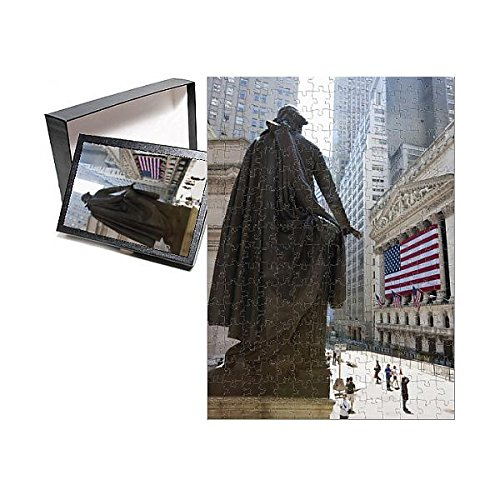 252 Piece Puzzle Of Statue Of George Washington In Front Of Federal Hall  Wall Street  3635632