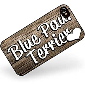 Rubber Case for iphone 4 4s Blue Paul Terrier, Dog Breed Scotland - Neonblond