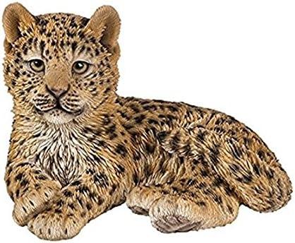 Orange Vivid Arts D Leopard Cub D Gr/ö/ße