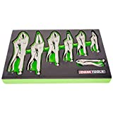 OEMTOOLS 23987 Locking Pliers Set (7 Piece), 1 Pack