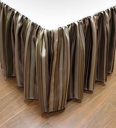 Austin Horn Classics Wonderland Luxury Bed Skirt (King) (Bedskirt Austin)