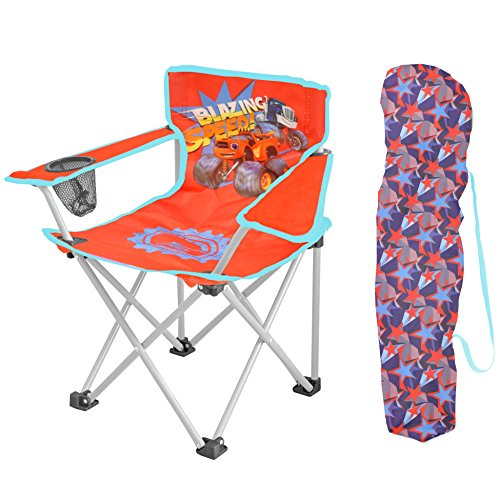 Price comparison product image Nickelodeon Blaze and the Monster Machine Kids Camp Chair