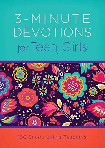 3-Minute Devotions for Teen Girls: 180 Encouraging Readings by April Frazier (2015-04-01)