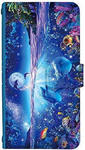 スマホケース 手帳型 [GALAXY S7 EDGE SC-02H] ケース クリスチャン ラッセン デザイン 柄 0435-A. WISH ON A STAR scv33 sc02h カバー 手帳 人気 sc-02h カバーギャラクシー エスセブン エッジ ギャラクシーs7 edge sc02h ケース Samsung サムスン スマホゴ