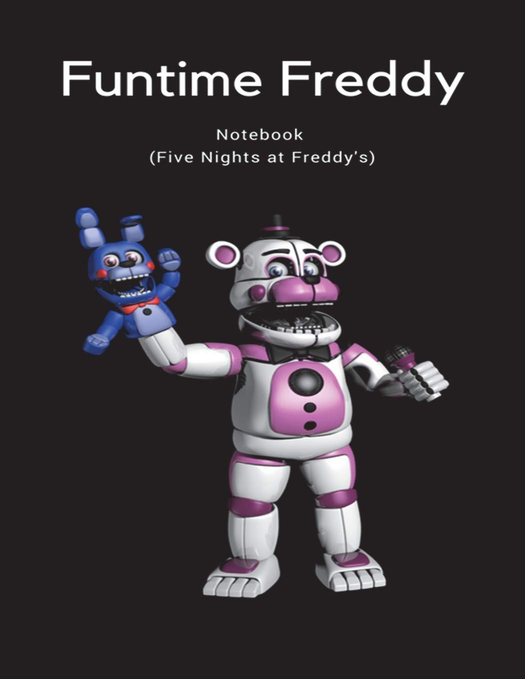 Amazon com: Funtime Freddy Notebook (Five Nights at Freddy's