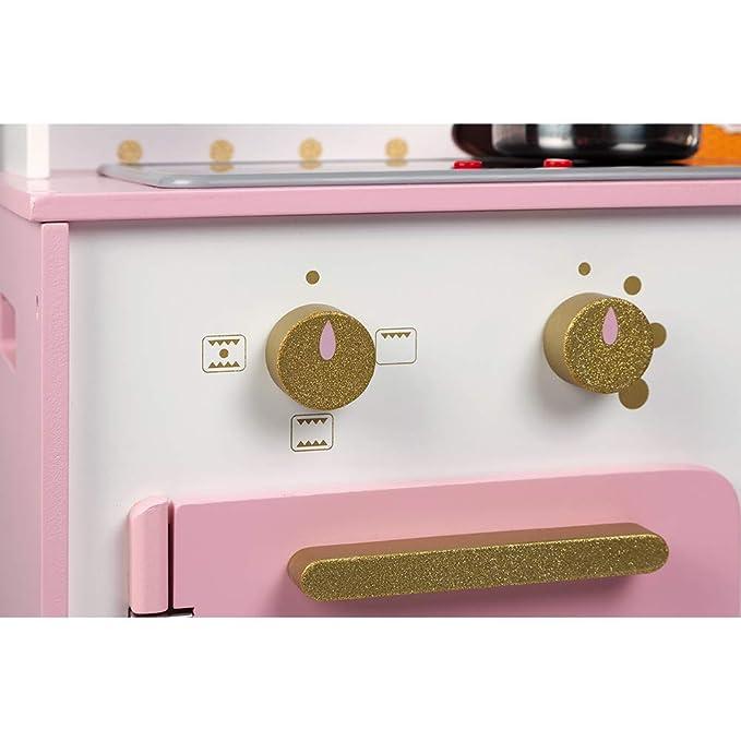 Amazon.com: Janod Candy Chic Glitter Big Cooker - Juego de ...