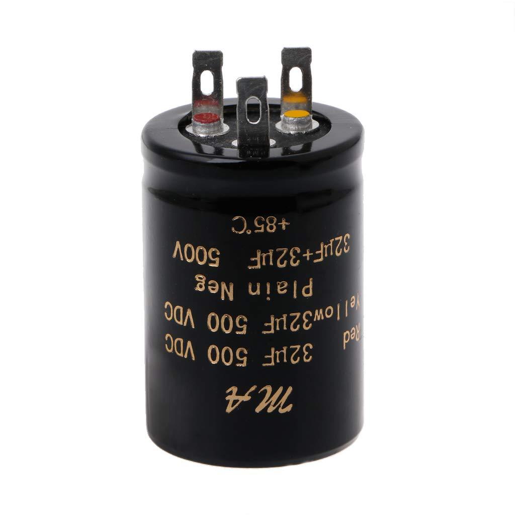Condensatori elettrolitici audio doppio 100 100uf 32 50uf 32uf 500V 50 Bogji