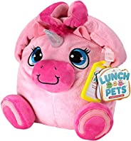 Lunch Pets Insulated Kids Lunch Box – As Seen on TV Plush Animal and Lunch Box Combination - Yumicorn