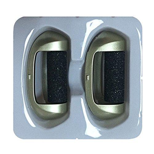 2 x raue Ersatzrollen für die beste Nakosite Golden Lady Elektrische Fuß-Feile. Diese Nachfüllungen sind für den Nakosite Fantastische Hornhaut Entferner, Pediküre harte Haut Schönmacher und Fuß-Peeling. Sehr langlebig!
