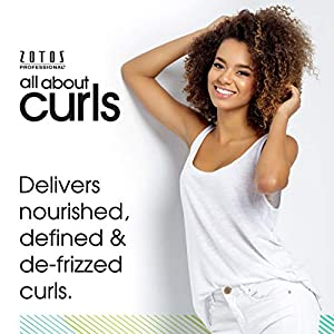 All About Curls Daily Cream Conditioner, Free of SLS SLES Sulfates, Silicones and Parabens, Color-Safe, 15-Ounce