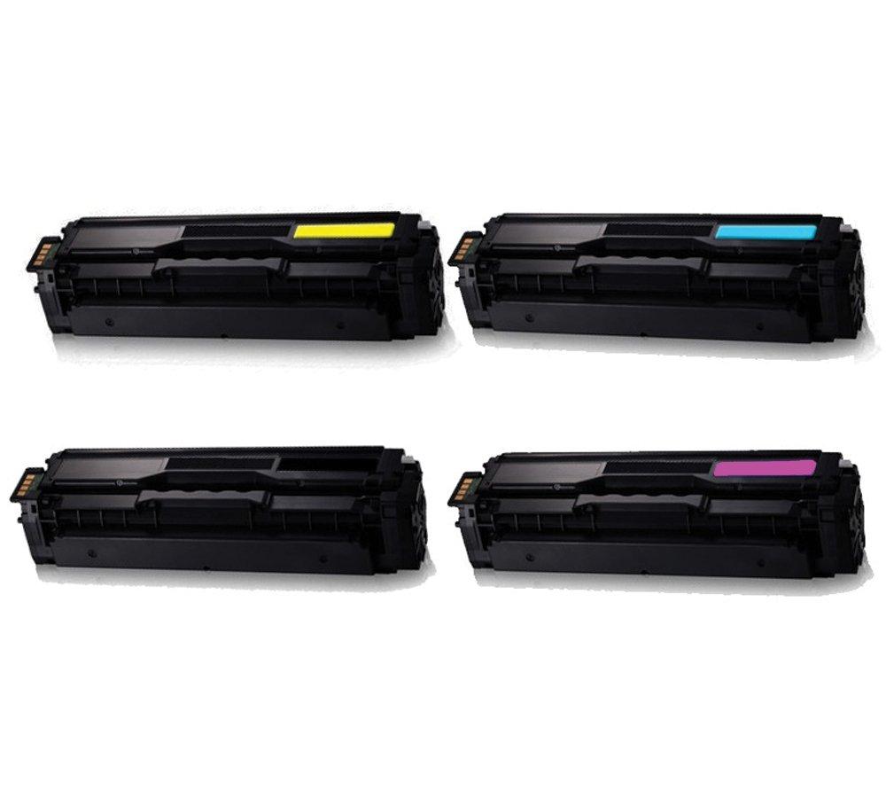 5 pack CLT-K504S Color Set fits Samsung SL-C1860FW SL-C1860FW Printer PREMIUM!