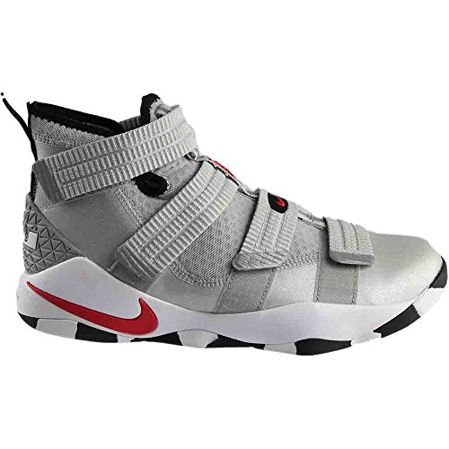 NIKE Lebron Soldier Xi Mens Basketball Shoes Metallic silver/varsity red discount clearance low shipping VQKl6PZ