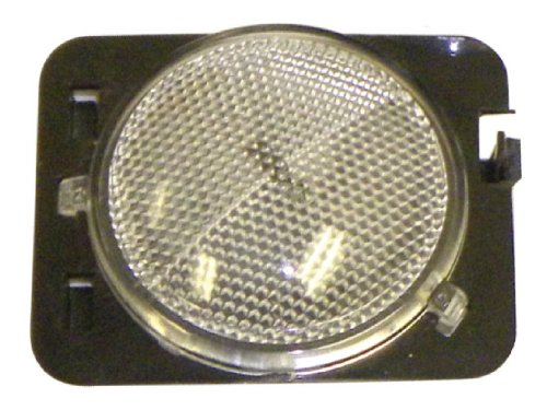 Crown Automotive 55078144AAC Side Marker Lamp, Clear, Front, Right
