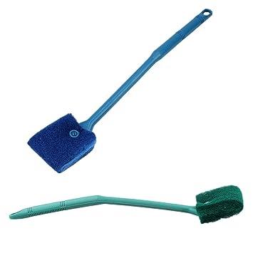 Fully Limpiador de algas para plantas de acuario, 2 colores, cepillo de limpieza para peceras: Amazon.es: Productos para mascotas