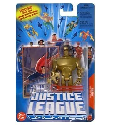 Justice League Unlimited Amazo Action Figure: Toys & Games