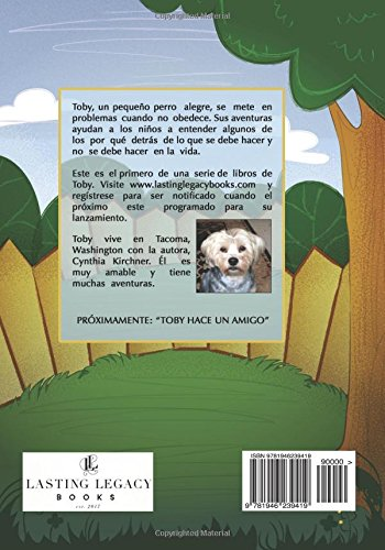Amazon.com: Toby Apprende a Obedecer: Es mejor obedecer (Spanish Edition) (9781946239419): Cynthia Kirchner, Katie Franzen: Books