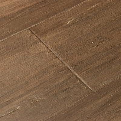 Cali Bamboo - Extra Wide Engineered Flooring, Napa Gray, Hand Scraped - Sample