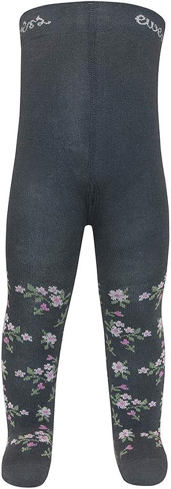 Strumpfhose Baumwolle Made in Europe und Kinderstrumpfhose f/ür M/ädchen Blumen Ewers Baby