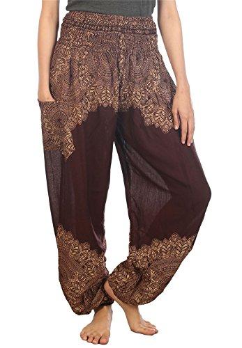 pattern pants - 6