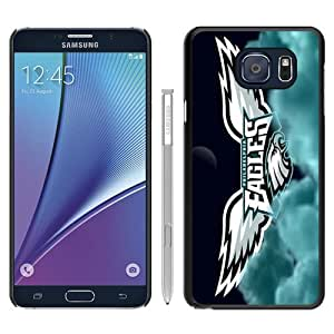 Hot Sale Philadelphia Eagle Black Samsung Galaxy Note 5 Screen Phone Case Beautiful and Genuine Design