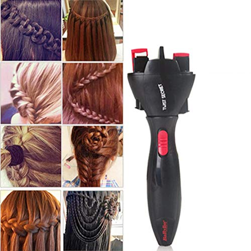 XuBa Electric Hair Braider Automatic Twist Braider Knitting Device Hair Braider Machine Hair Styling Tool