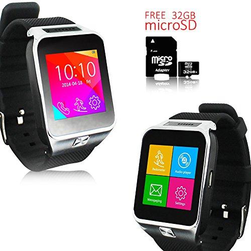 Indigi NEW SmartWatch&Phone WiFi+Bluetooth+Sleep Monitor - Free 32gb SD