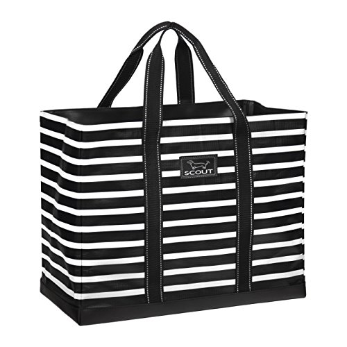SCOUT Original Deano Large Tote Bag, Water Resistant, Fleetwood Black