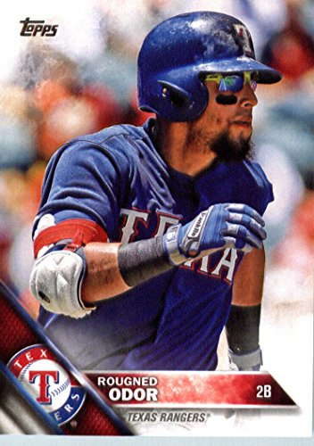 2016 Topps #16 Rougned Odor Texas Rangers Baseball Card