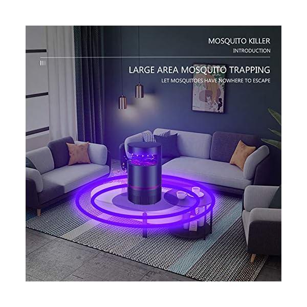 WENJZJ UV Lampada Antizanzara Lanterna Campeggio Killer zanzare Lampada zanzara Zanzariera Elettrica Mosquito Trap… 5 spesavip