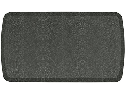 GelPro Elite Shagreen Floor Mat, 20 by 36-Inch, Metal Grey by GelPro