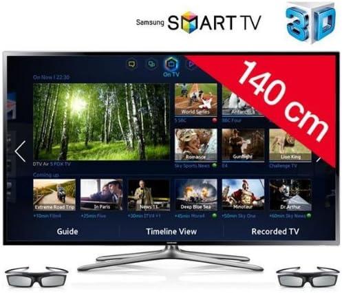 Samsung UE55 F6400 – Televisor LED 3D Smart TV + Gafas 3D Active SSG-5100GB: Amazon.es: Electrónica