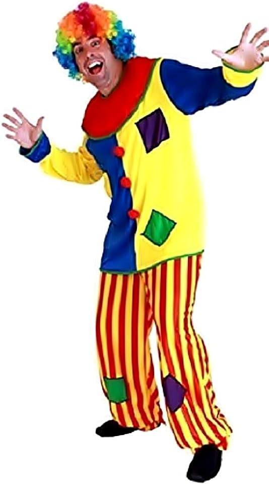 KIRALOVE Disfraz de Payaso - Circo - Disfraces - Halloween ...