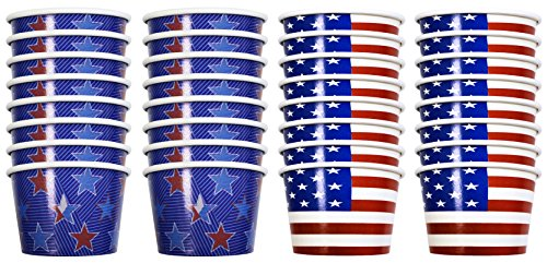 red and white ice cream cups - 2