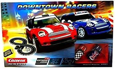 Carrera Downtown Racers (con MINI Cooper S Rojo y MINI Cooper S Azul)