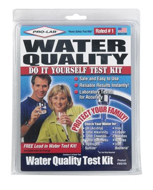 Pro Lab WQ105 Do-It-Yourself Water Quality Test Kit by ProLab