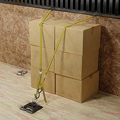 Basics 12-Feet Long Lashing Strap, Yellow, 4-Pack: Home Improvement