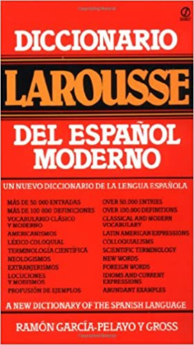 amazon com diccionario larousse del español moderno spanish