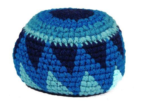 Hacky Sack - Blue Triangles