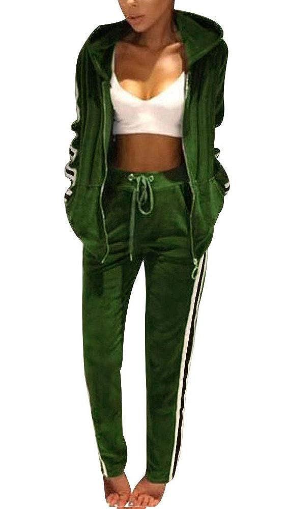 Top-Vigor - Chándal - para Mujer Verde Verde L: Amazon.es: Ropa y ...