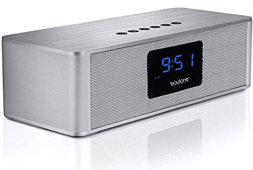 Boytone BT-88CB Bluetooth 4.1 Portable Alarm Clock Radio Wir