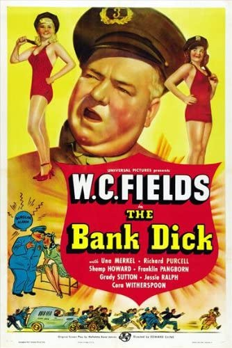 Amazon.com: The Bank Dick POSTER Movie (27 x 40 Inches - 69cm x 102cm) (1940)  (Style B): Posters & Prints