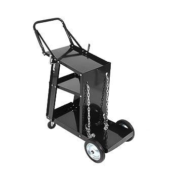 D'atelier Noir 3 Etages Soudure Chariot À Soudage Outils Mobile v8Nynwm0O