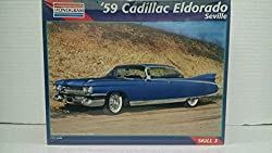 Monogram 2463 1959 Cadillac Eldorado Seville 1:25 Scale Plastic Model Kit - Requires Assembly from Monogram