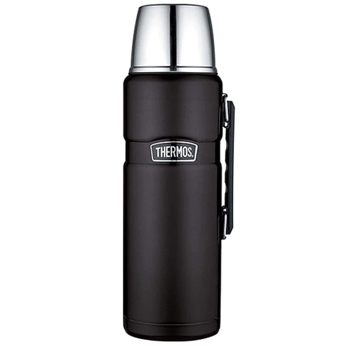 Thermos Stainless King Vacuum Insulated Beverage Bottle (Black - 2L)