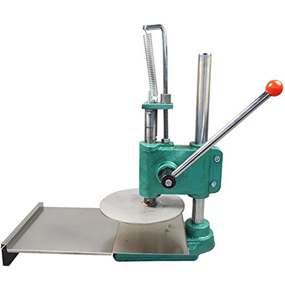 Genmine Pizza Dough Sheeter, Big Dough Roller Dough Pasta Maker Household Pizza Dough Pastry Press Rolling Machine