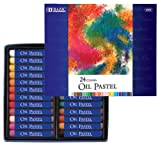 BAZIC 24 Color Oil Pastels, Case of 72 (2553-72)